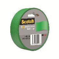 Scotch Masking Craft Tape 25mm x 18m Primary Green