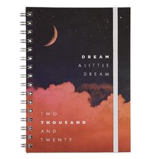 Modena 2020 Diary Week To View Spiral Night Sky A5