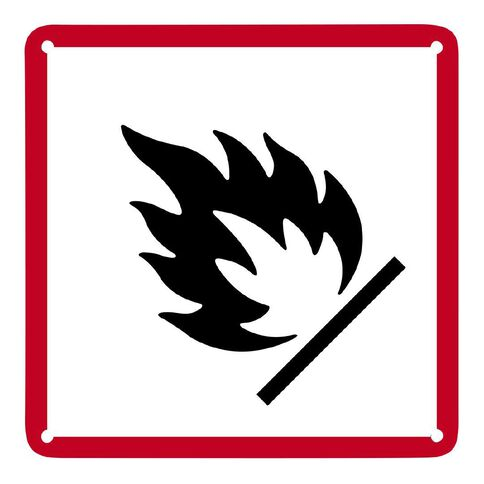 WS Fire Sign Small 300mm x 300mm