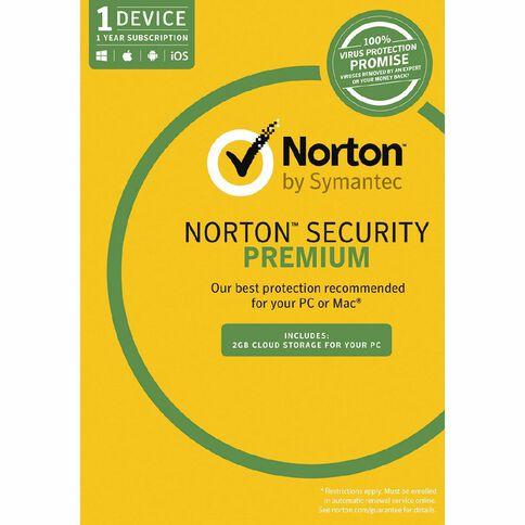 Norton Security Premium 3.0 1 Device