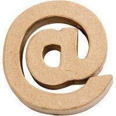 Paper Mache Small Symbol @ 10cm Brown