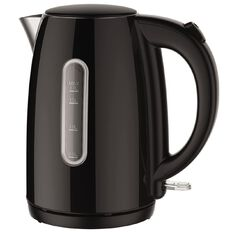 Living & Co Stainless Steel Kettle 1.7 Litre Black