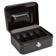 Impact Cash Box Black 6 inch
