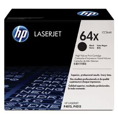 HP 64X Black Contract LaserJet Toner Cartridge (24000 Pages)