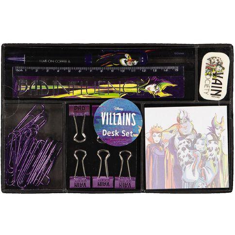 Disney Villains Desk Set