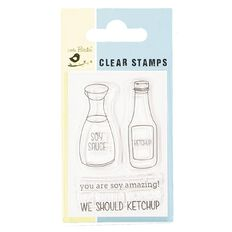 Little Birdie Clear Stamps 2in x 3in Assorted