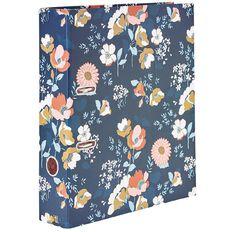 Uniti Winter Bloom Lever Arch Folder