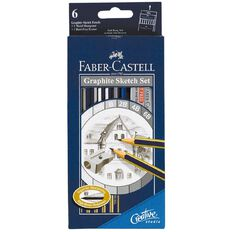 Faber-Castell Graphic Sketch Set Black