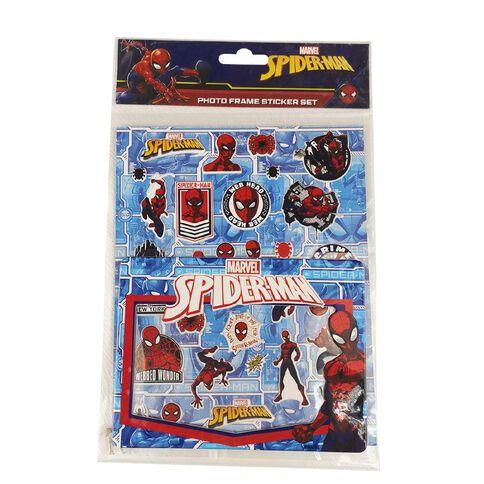 Spider-Man DIY Puffy Sticker Frame