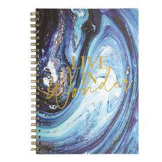 Uniti Platinum Visual Diary Spiral Live In Wonder A4