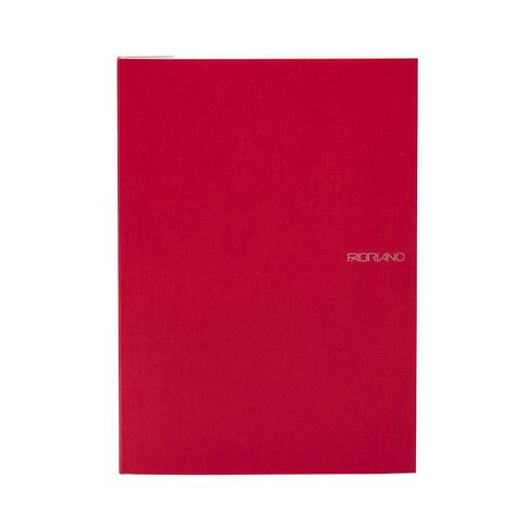Fabriano Ecoqua Sketchbook Dotted 85GSM 90 Sheets Raspberry A4