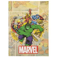 Disney Avengers Scrapbook 32 Sheets