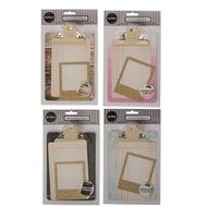Rosie's Studio Mini Decor Clipboard Set with Frame & Card Assorted