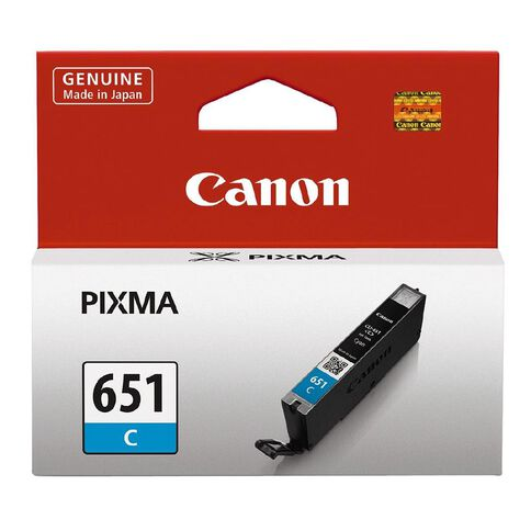 Canon Ink CLI651 Cyan (330 Pages)