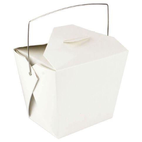Artwrap Noodle Boxes 4 Pack White