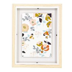 Uniti Winter Bloom Floating Frame Multi-Coloured
