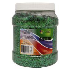 Fivestar Glitter Green 1 kg Jar