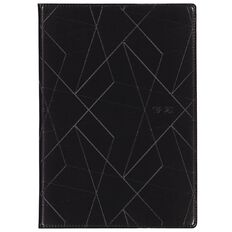 Dats Diary Mid-Year 19-20 Week to Page Black A4