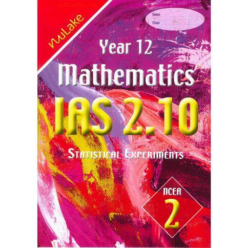Nulake Year 12 Mathematics Ias 2.10 Statistical Experiments