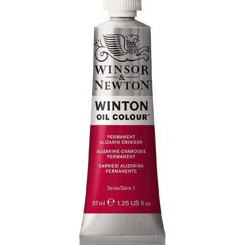 Winsor & Newton Winton Oil Paint 37ml Permanent Alzarin Crimson Red