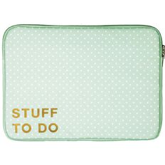 Pastel Geo 14.1 inch Notebook Sleeve Stuff to Do