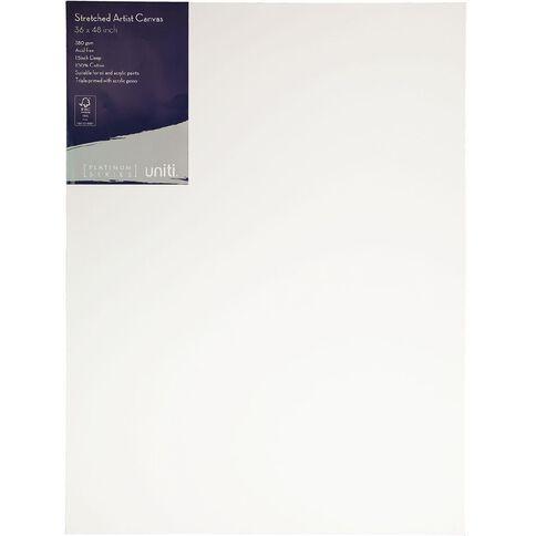 Uniti Platinum Canvas 36x48 Inches 380Gsm