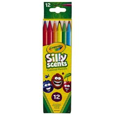 Crayola Silly Scents Twist Coloured Pencils 12 Pack