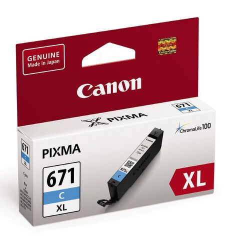 Canon Ink CLI671XL Cyan (690 Pages)