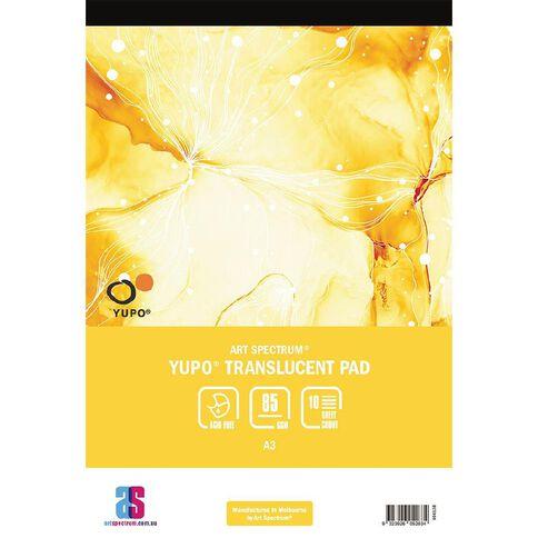 Art Spectrum Yupo Pad 85g 10 Sheets A3