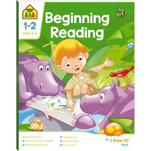 Beginning Reading I Know It Book (6-8yrs) by School Zone