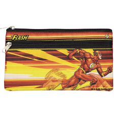The Flash DC Comics Fabric Double Zip Pencil Case