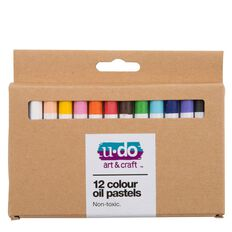 U-Do Oil Pastels 12 Pack