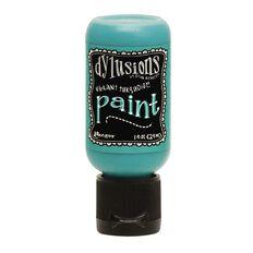 Ranger Dylusions Paint Flip Top Vibrant Turquoise 1 oz