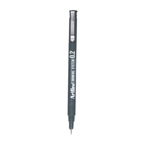 Artline Pen 232 Drawing System 0.2mm Loose Black