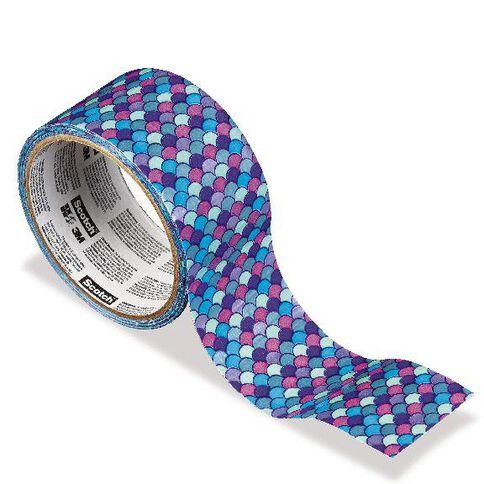 Scotch Duct Craft Tape 48mm x 9.14m Plate Blue