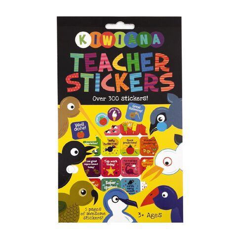 Kiwiana Sticker Pad Teacher Stickers NZ