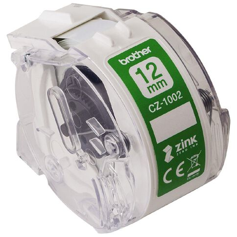 Brother CZ1002 Roll Cassette 12mm x 5m