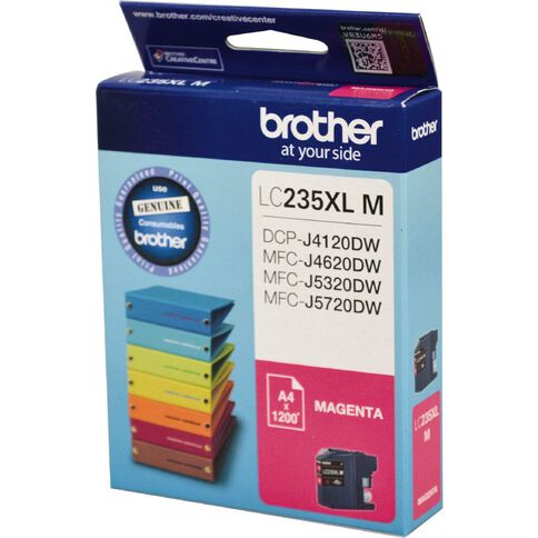 Brother Ink LC235XL Magenta (1200 Pages)