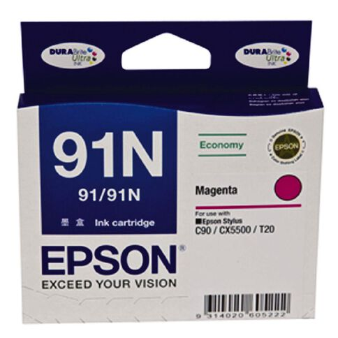 Epson Ink 91N Magenta (210 Pages)