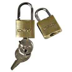 Korjo Luggage Lock Duo Gold