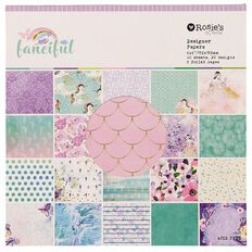 Rosie's Studio Fanciful Paper Pad 6in x 6in 40 Sheet