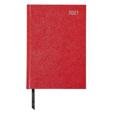 WS Diary 2021 Week To View Red A5 Red A5