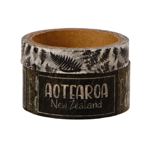 Uniti New Zealand Washi Tape 2 Pack Aotearoa