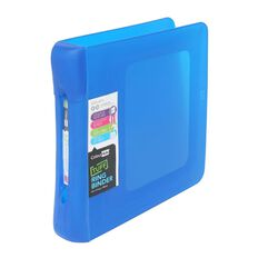 ColourHide Tuff Ringbinder 2D Blue A4