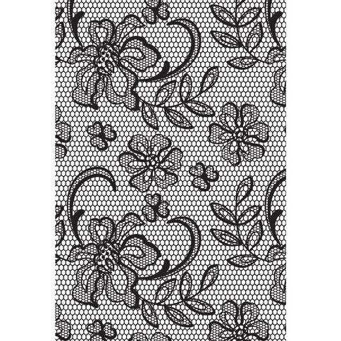 Kaisercraft Clear Stamps 155 x 105mm Background Floral Lace Clear