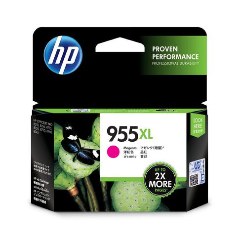 HP Ink 955XL Magenta (1600 Pages)
