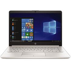 HP 14s-Cf0086tu 14 inch Notebook Natural Silver