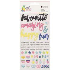 Rosie's Studio Soulshine Puffy Stickers
