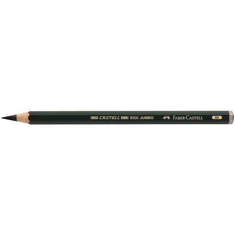 Faber-Castell Artist Grade 9000 Jumbo Pencil 8B Grey