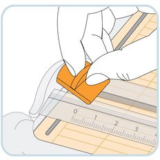 Fiskars Blades For Triple Track Trimmers 2 Pack